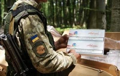 На границе с Румынией перехватили крупную партию сигарет