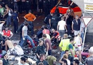 В Германии на фестивале Love Parade погибли 15 человек (обновлено)
