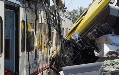 Жертвами столкновений поездов в Италии стали 23 человека