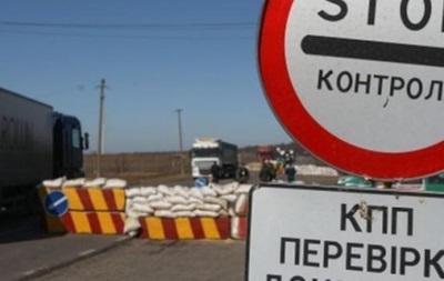 Сотни авто застряли на блок-посту в Донбассе