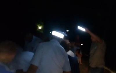 В Коктебеле полиция силой разогнала торговцев