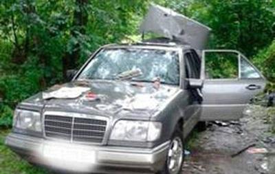 В полиции рассказали подробности взрыва Mercedes на Львовщине
