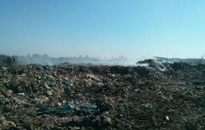 Пожар на Трипольской свалке под Киевом ликвидирован