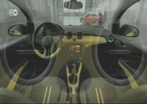 Городская микролитражка Opel Adam