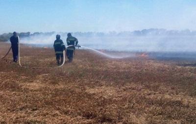 Генштаб зупинив навчання через пожежу на полігоні