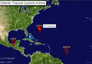 В Мексиканском заливе сформировался 14-й в сезоне тропический шторм