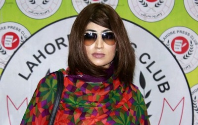 Известная модель в Пакистане стала жертвой  убийства чести