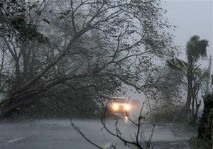 На Филиппины обрушился тайфун Меги