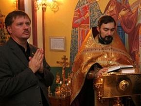 В Раду привезли икону Николая Чудотворца, чтобы молиться за выздоровление больных гриппом