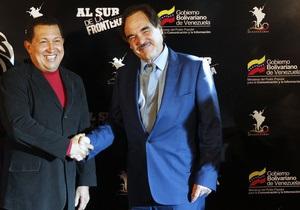 Чавес предложил США назначить послом в Венесуэле Оливера Стоуна