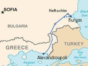 В Греции прошла презентация трансбалканского нефтепровода
