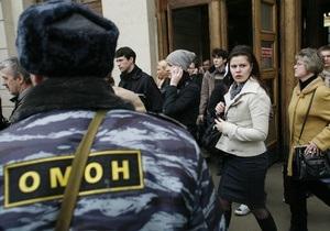 Опрос: Россияне стали больше доверять милиции