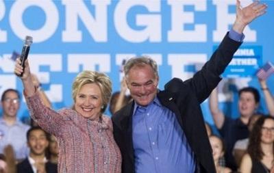 Хиллари Клинтон назвала кандидата на пост вице-президента