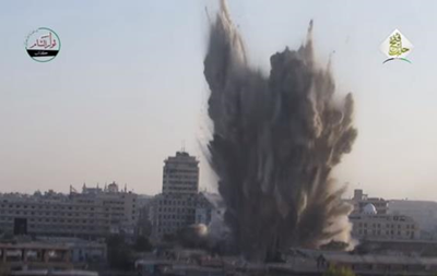 Десятки военных погибли от взрыва в Алеппо