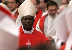 В Риме появились плакаты в поддержку избрания понтификом кардинала из Ганы