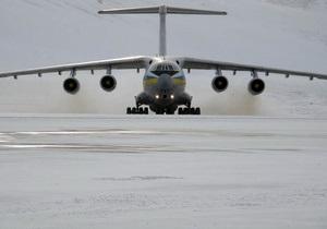 В Борисполе сел самолет с эвакуированными из Ливии украинцами