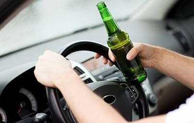 Штрафи  за п'яне керування збільшили втричі до 10 тисяч гривень