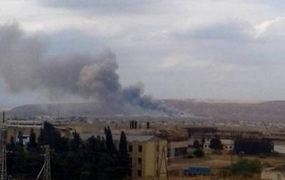 На оружейном заводе в Азербайджане взрыв