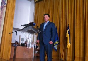 Свобода метит на кресло спикера парламента