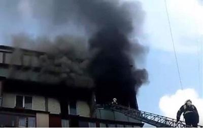 При пожаре в Киеве погибли два человека