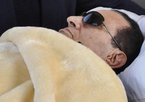 В тюрьме Мубарака пять раз подключали к аппарату искусственного дыхания