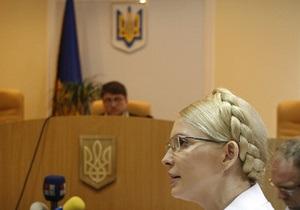 Сегодня суд начнет рассматривать дело против Тимошенко по существу