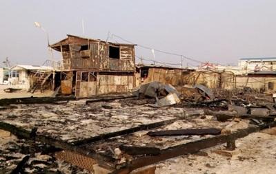 В Запорожской области горели МАФы: есть пострадавший