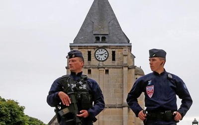 Во Франции задержали родственника напавшего на церковь
