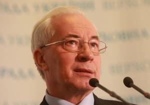 Азаров считает историческим решение о продлении пребывания российского флота в Крыму