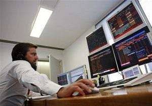 Украинские фондовые биржи открылись снижением