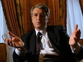 Ющенко не намерен пересматривать газовые соглашения с Россией