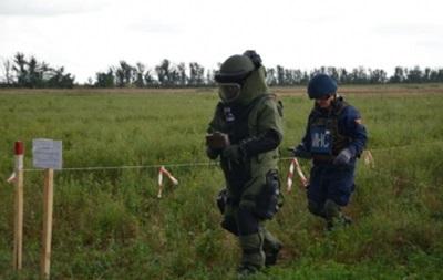 На Донбасс отправлено оборудование НАТО для разминирования