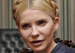 Тимошенко заявила, что ее унизительным образом обыскали и пытались отобрать iPad