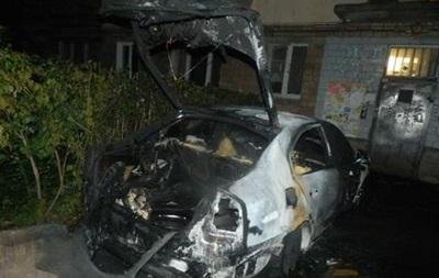 В Киеве сожгли авто адвоката