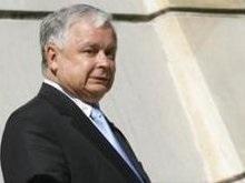Лех Качиньский: РФ вторглась в Грузию из-за энергоресурсов для Европы