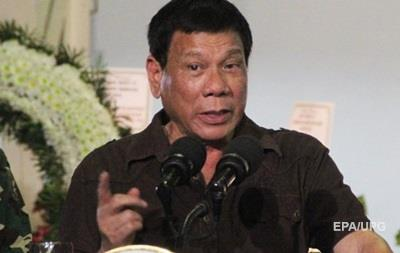 Президент Филиппин обвинил чиновников в связях с наркомафией