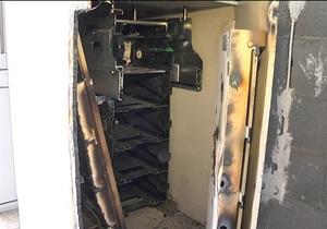 В Киевской области сломали стенку банкомата и похитили 89 тысяч гривен