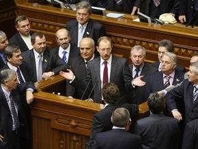 Рада провалила антикризисные переговоры
