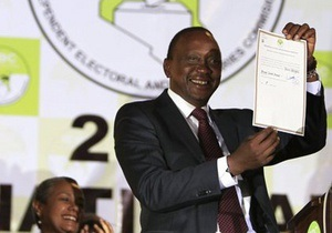 Новости Кении - Политика, разыскиваемого Гаагским трибуналом, избрали президентом Кении - Ухуру Кеньятта