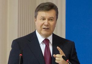 Опрос: Рейтинг Януковича и Партии регионов продолжает падать