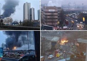 Лондон: при крушении вертолета погибли два человека
