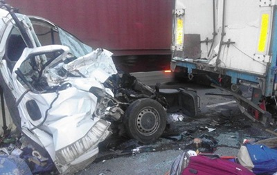 В ДТП на трассе Киев-Одесса погибли восемь человек