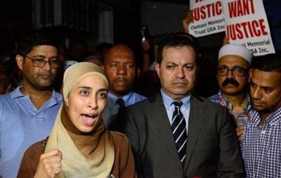 В Нью-Йорке прошла акция протеста после убийства имама