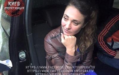 В Киеве поймали за рулем пьяную сотрудницу полиции