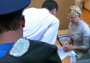 Суд в пятый раз отказался освободить Тимошенко