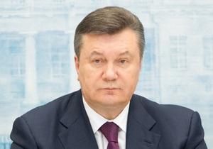 Янукович уволил руководителя Исполнительной службы