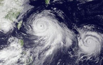 Тайфун Chanthu уверенно надвигается наСахалин