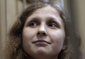 Осужденную участницу Pussy Riot перевели в одиночную камеру