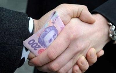В Сумской области мэр  погорел  на взятке в 50 тысяч гривен