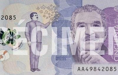 В Колумбии выпустили банкноты с изображением писателя Маркеса